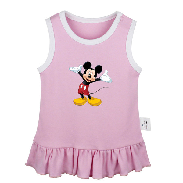 2019 Happy Tiger Clipart Funny Mouse Cute Eeyore Sticker King Newborn Baby  Girls Dresses Toddler Sleeveless Dress Infant Clothes From Hanlley, $20.66.