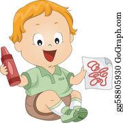 Toddler Clip Art.
