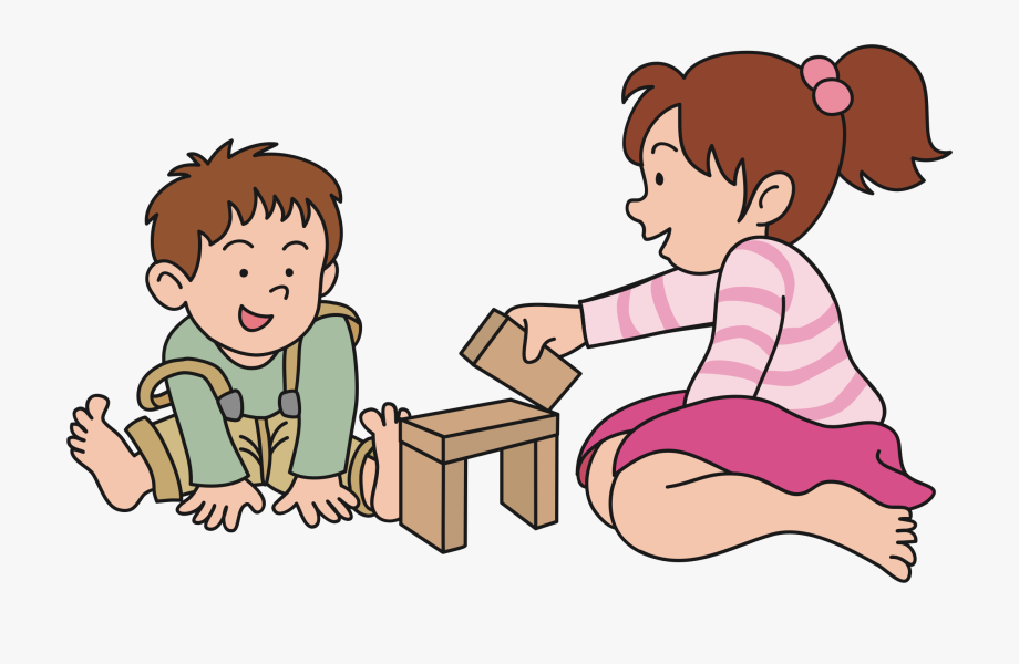 Clipart Children Playing , Transparent Cartoon, Free.