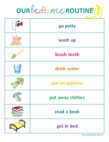 17 Best ideas about Toddler Routine Chart on Pinterest.