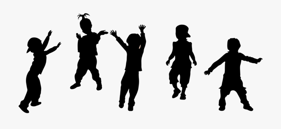 Kids Silhouette Party.