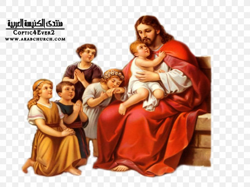 Teaching Of Jesus About Little Children Prayer Depiction Of.