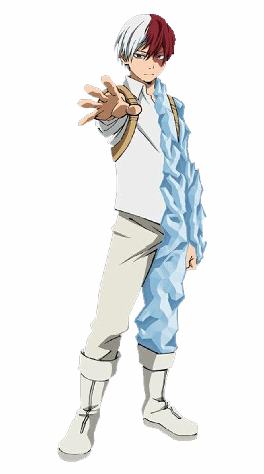 My Hero Academia Todoroki Costume , Png Download.