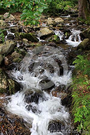 Waterfalls, Germany Stock Photo.