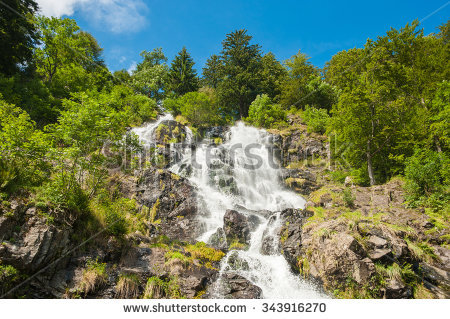 Todtnau Waterfall Stock Photos, Royalty.