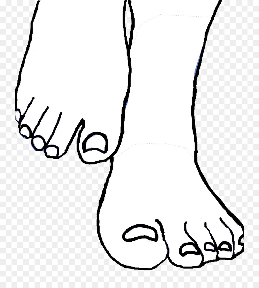 Toes clipart black and white 3 » Clipart Station.