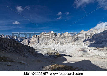 "Picture of ""View from Little Lagazuoi Mountain towards the Tofana."