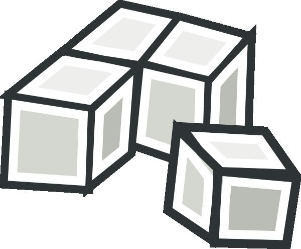 Tofu Cubes clip art Free Vector / 4Vector.