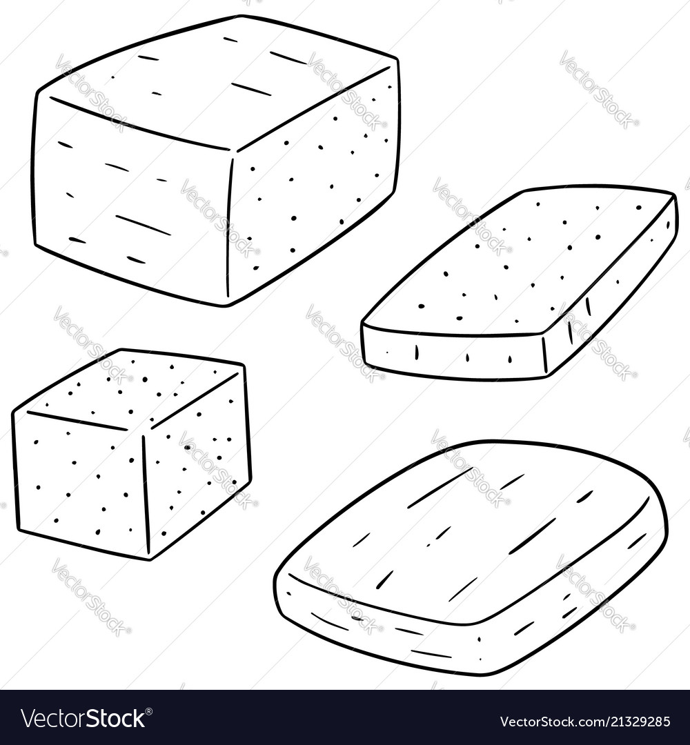 Set of tofu.