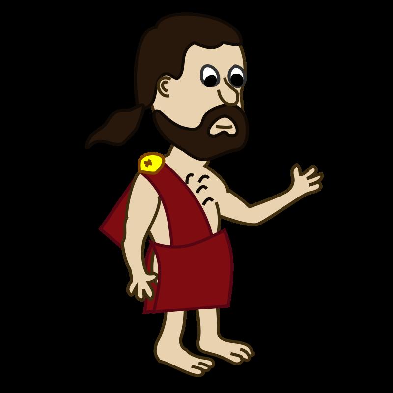 Free Clipart: Comic characters: Toga.