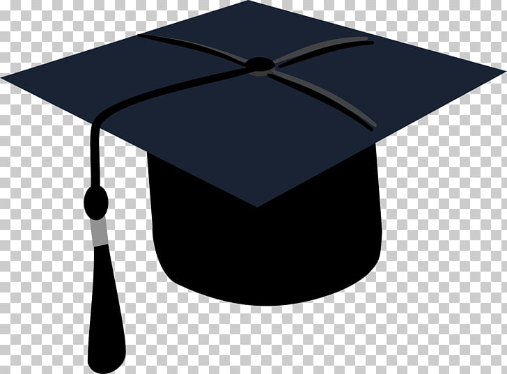 Toga , Graduates, black and grey mortar board art PNG.