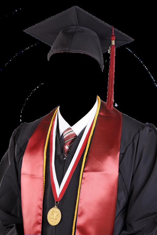 Plantillas para fotomontajes de graduación en png.