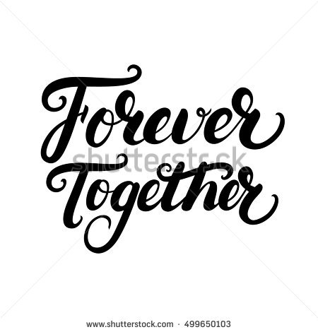 Together Forever Stock Photos, Royalty.