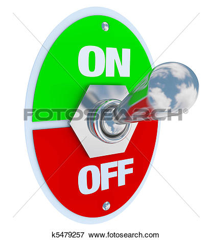 Clipart of Toggle switch k7186331.