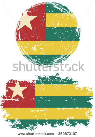 Togolese Flag Stock Photos, Royalty.