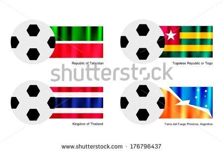 Vector Togolese Stock Photos, Royalty.