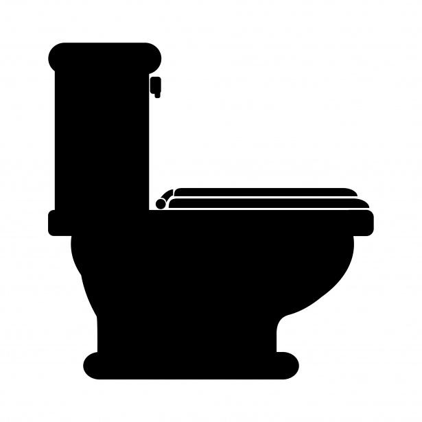 Toilet Clip Art Black And White Free Clipart Images 3 Clipartix