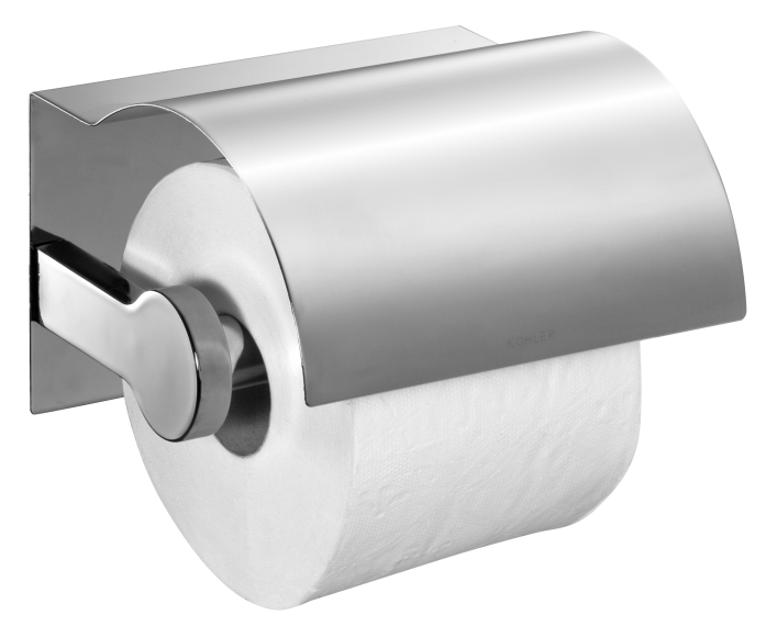Toilet Paper Roll With Holder PNG Transparent Image #1.