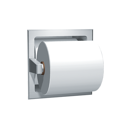 Spare Roll Toilet Tissue Holder.