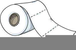 Free Clipart Toilet Paper Roll.