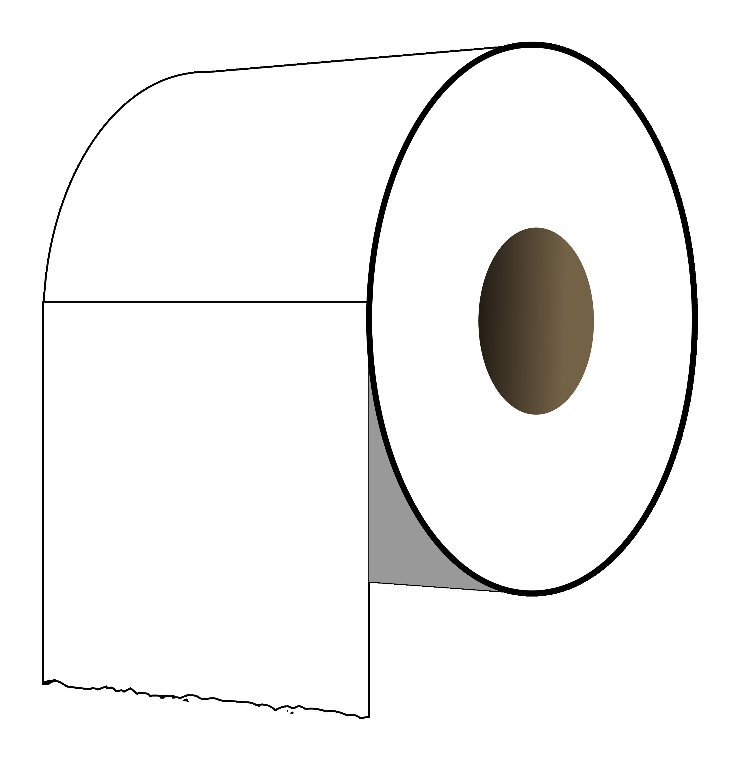 Toilet Paper Clipart.