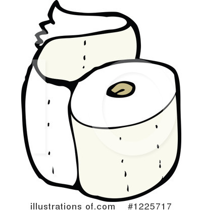 Baby Toilet Paper Clipart.