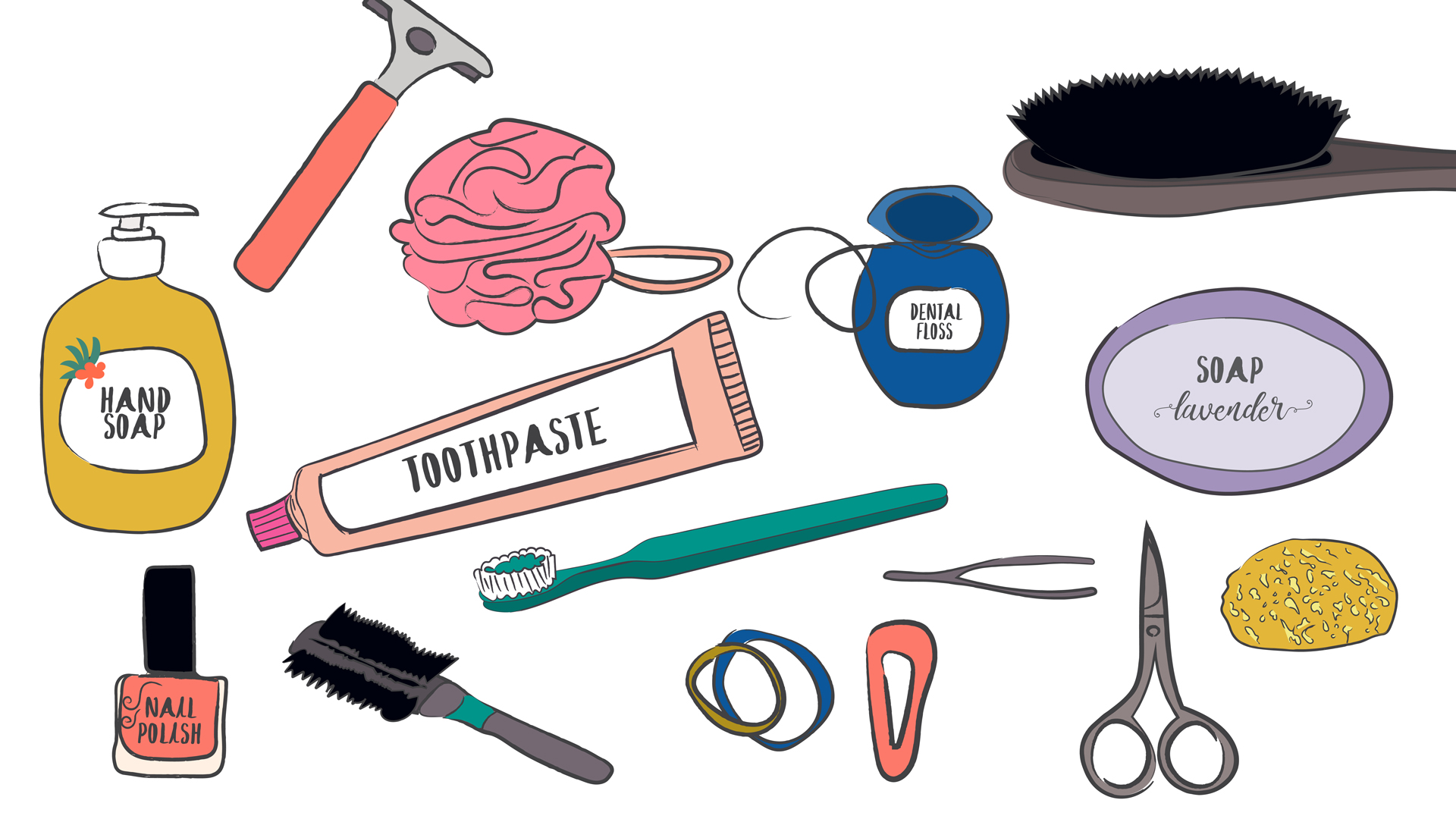 Toiletries Clip Art (107+ images in Collection) Page 3.