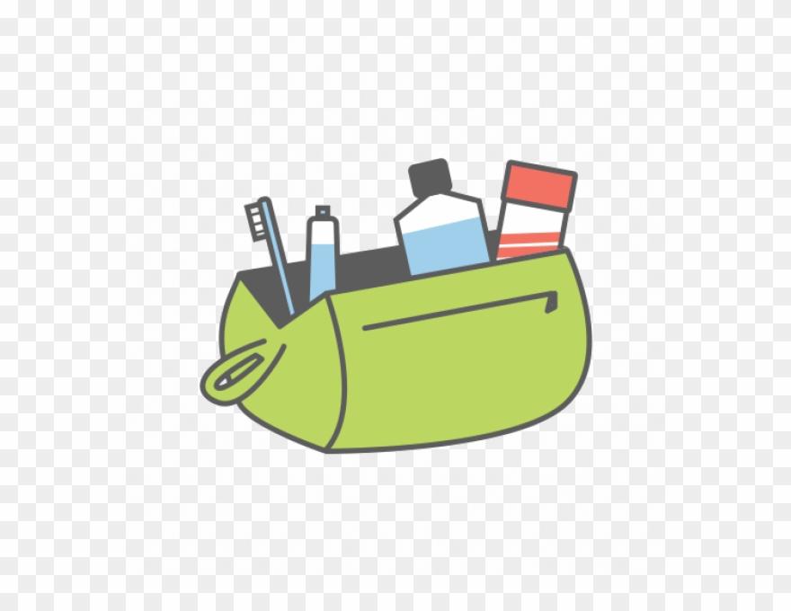 Toiletries Bag Clipart.