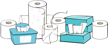 Royalty Free Clipart Image of a Toiletries #428167.