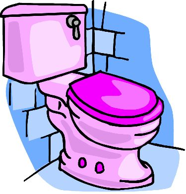 Free Toilet Clipart Pictures.