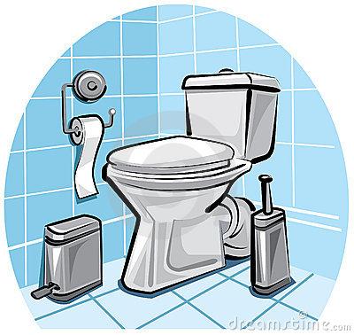 Toilette Clipart Page 1.