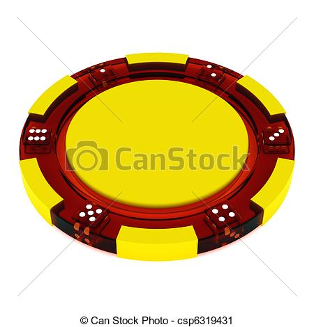 Clipart of Glass Casino tokens.