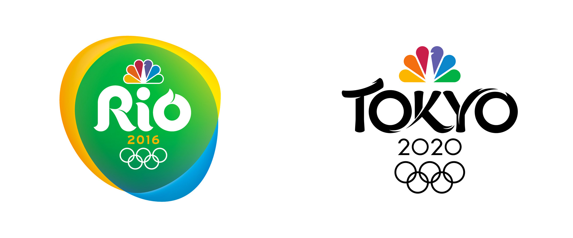 Brand New: New Logo for NBC Olympics 2020 Broadcast by Mocean.