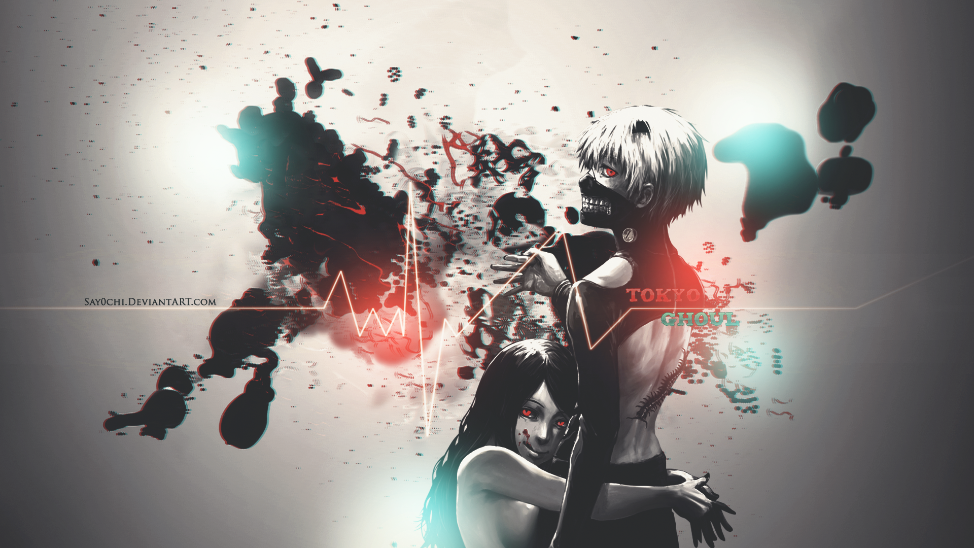 tokyo ghoul clipart 1920x1080