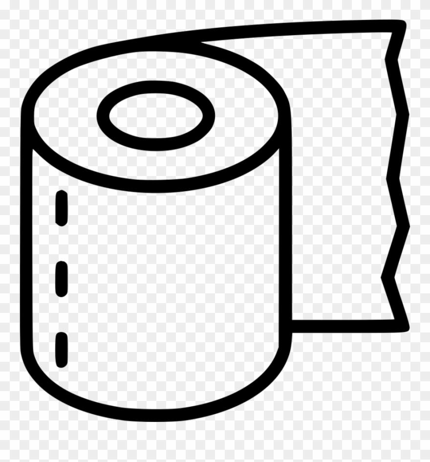 Svg File Toilet Paper Clipart Toilet Paper Clip Art.