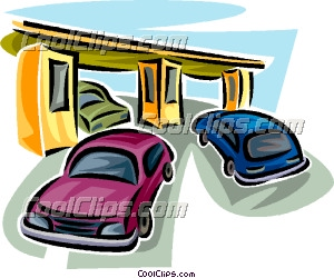 Toll booth clipart.