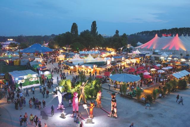 Tollwood Festival Munich.