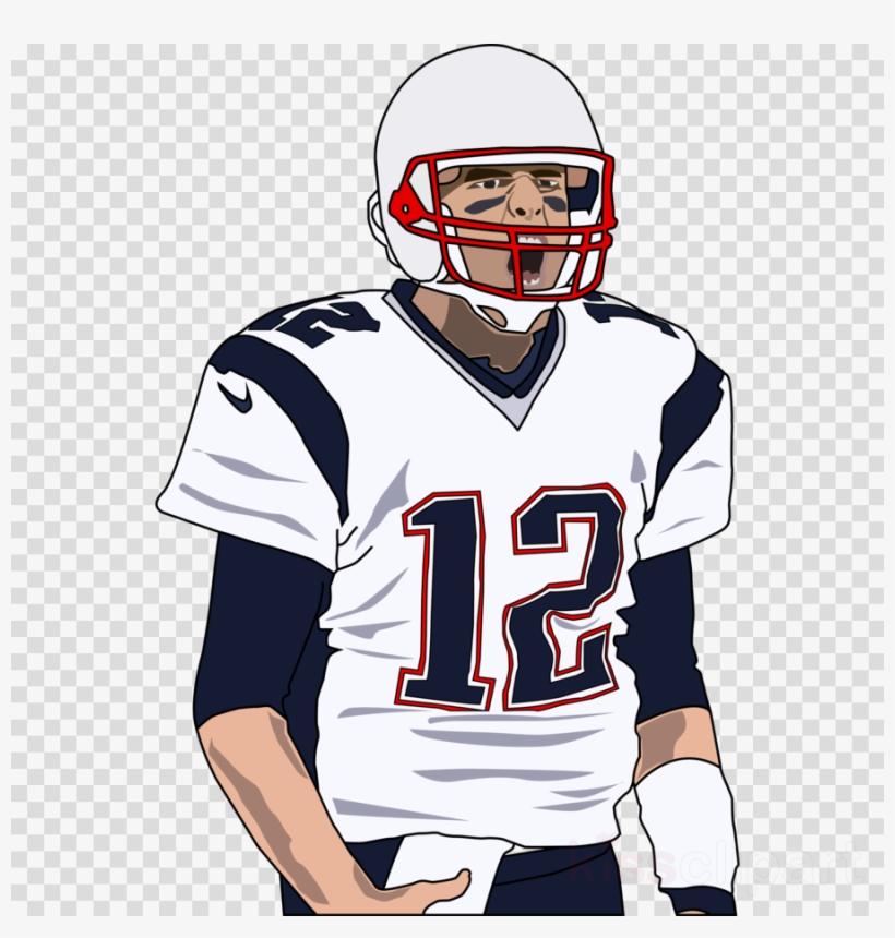 Tom Brady Clipart Super Bowl Li Face Mask New England.