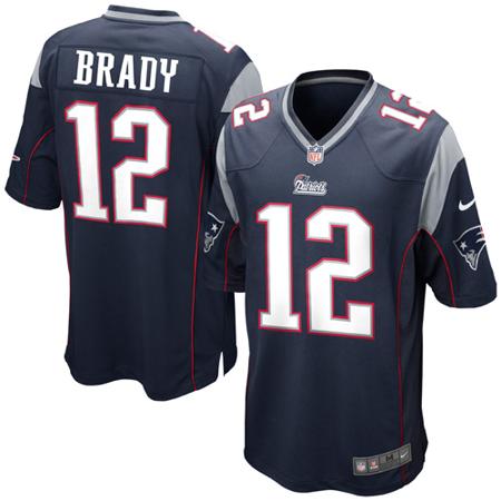 Tom Brady New England Patriots Nike Game Jersey.