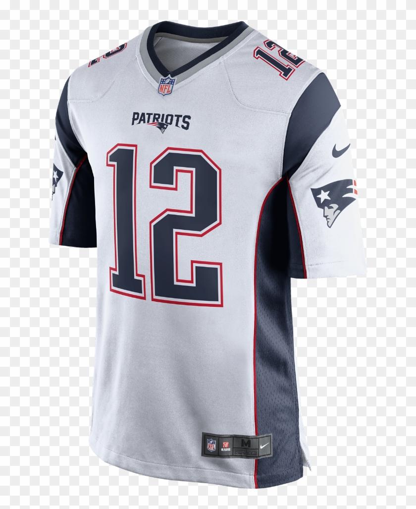 Nike Nfl New England Patriots Men\'s Football Away Game.