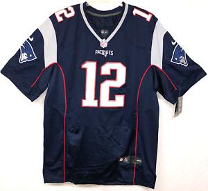 Details about NWT Nike Sz 48 XL Tom Brady New England Patriots Jersey #12  Stitched NOS.