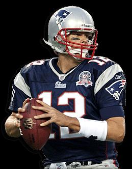 New England Patriots Tom Brady transparent PNG.