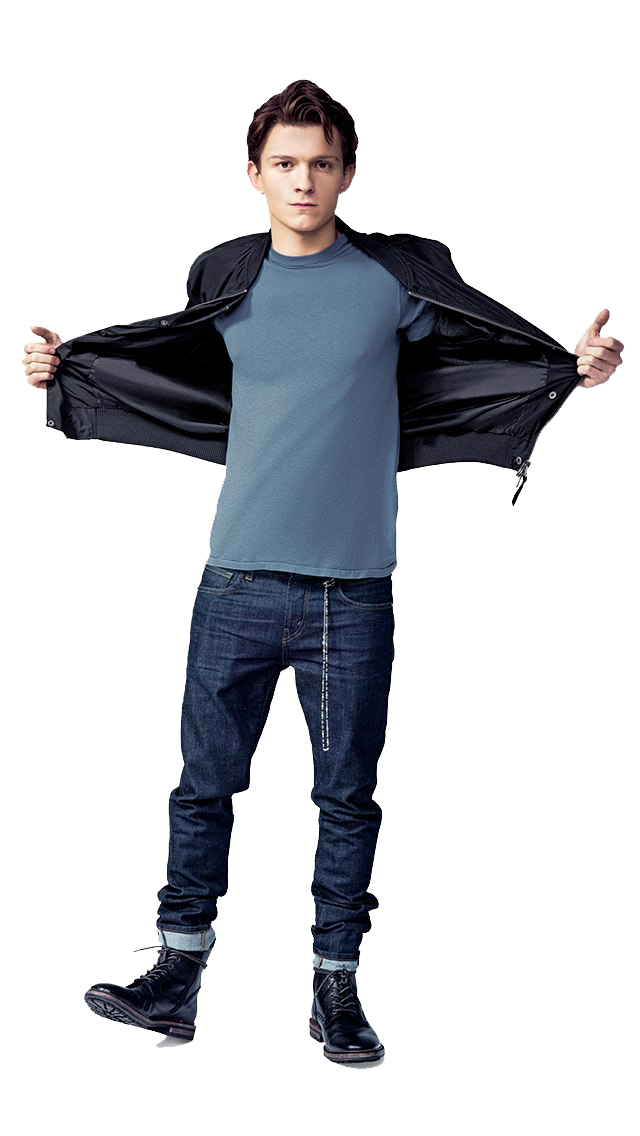 Tom Holland PNG Picture.