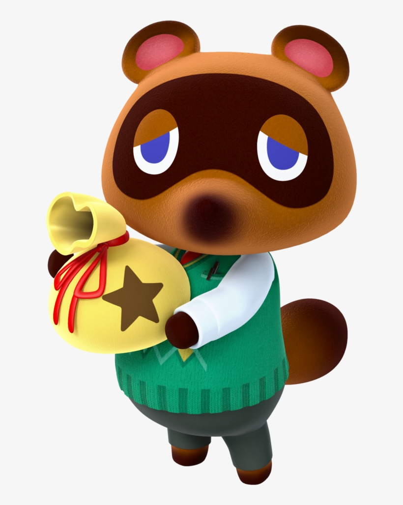 Tom Nook And All Your Hard Earned Bells #524412.