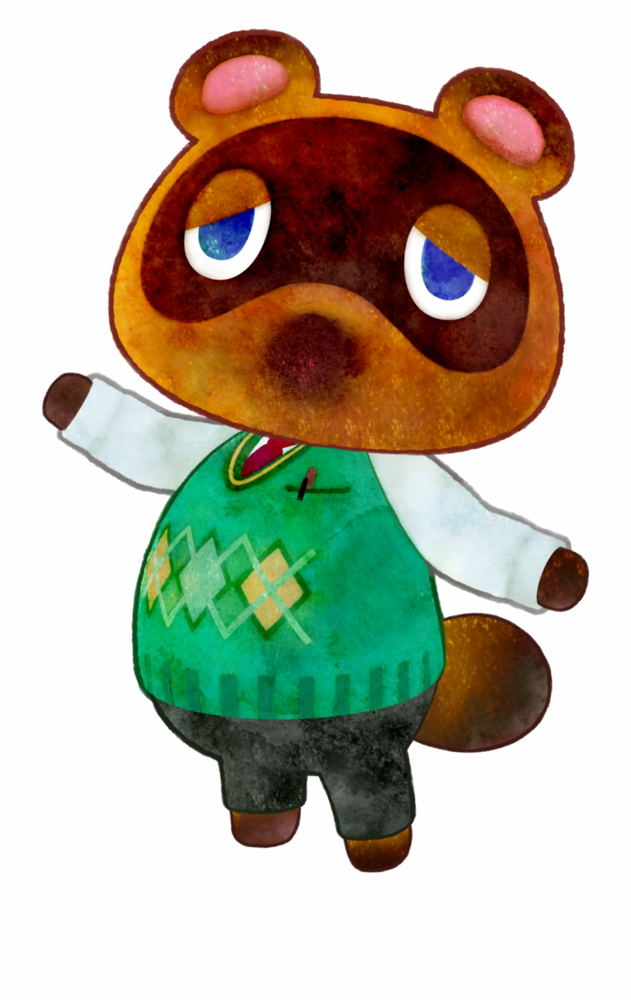 Animal Crossing Happy Home Designer Tom Nook, Transparent.