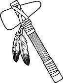 Tomahawk Clip Art and Illustration. 364 tomahawk clipart vector.