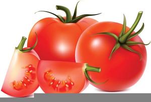 Free Tomato Border Clipart.