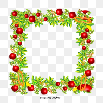 Vegetables Border Png, Vector, PSD, and Clipart With.