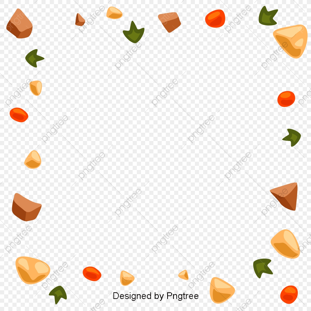 Food Tomato Border, Food, Tomatoes, Bread PNG and Vector.