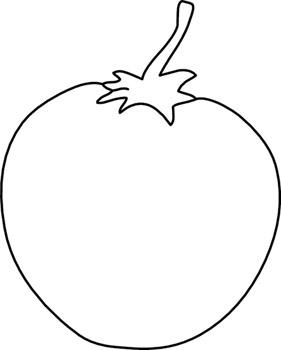 Free Tomato Clipart Black And White, Download Free Clip Art.